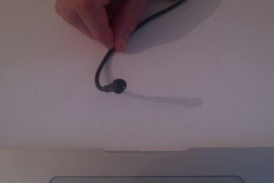 Le micro que j'ai utilisé pour enregistrer mes approches