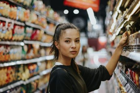 Draguer au supermarché ?