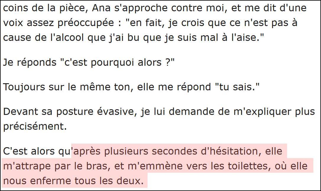 Témoignage de Antoine